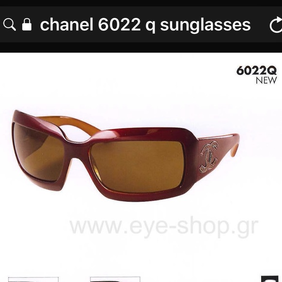 ee291913a984 CHANEL Accessories | 6022q In Deep Red Sunglasses | Poshmark